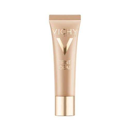Тон Идеаль Тональный Крем 25 тон, 30 мл (Vichy, Teint Ideal) shiseido waso смарт крем увлажнение и ровный тон без содержания масел spf30 waso смарт крем увлажнение и ровный тон без содержания масел