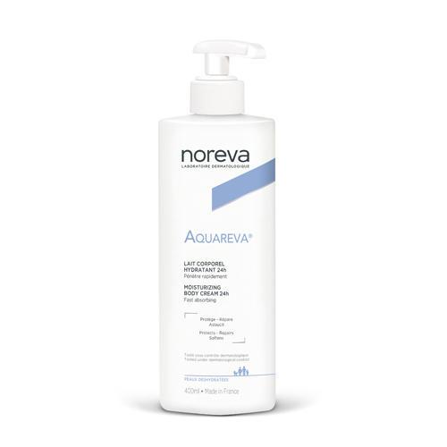Купить Noreva Акварева Увлажняющие молочко для тела, 400 мл (Noreva, Aquareva), Франция