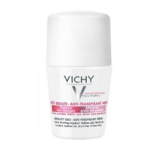 Дезодорант шариковый 48 ч Красивая кожа, 50 мл (Vichy, Deodorant) vichy дезодорант шариковый 48 часов для чувствительной кожи vichy homme 50 мл