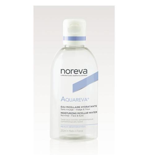 Акварева Мицеллярная вода для обезвоженной кожи 250 мл (Noreva, Aquareva) organic stories мицеллярная вода для лица с шелком для всех типов кожи питание и витамины для кожи 250 мл