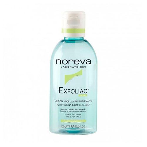 Noreva - Merck Эксфолиак Очищающий мицеллярный лосьон 250 мл (Exfoliac)