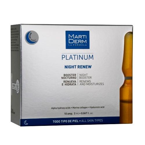 Купить MARTIDERM Платинум Ампулы «Ночное восстановление» 10 х 2 мл (MARTIDERM, Platinum)