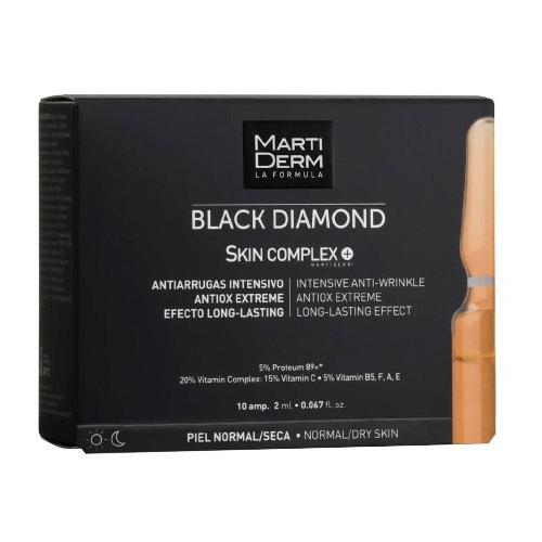 Купить Martiderm Блэк Даймонд Ампулы «Скин Комплекс +» 10 х 2 мл (Martiderm, Black Diamond)