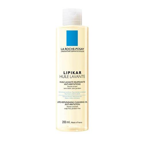 Липидовосполняющее смягчающее масло для ванной и душа 200 мл (La RochePosay, Lipikar)