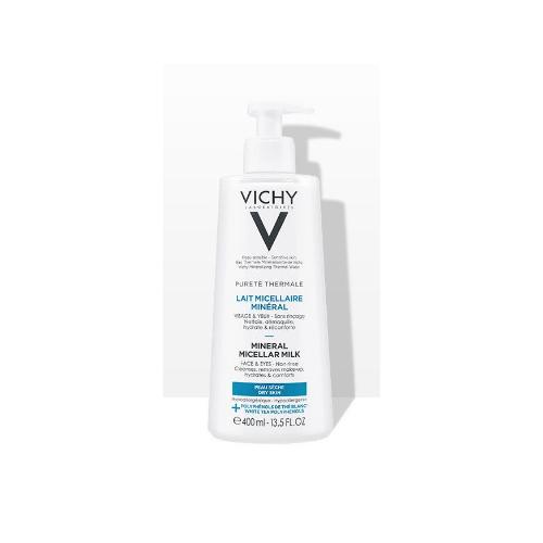 Vichy Мицеллярное молочко с минералами для сухой и нормальной кожи 400 мл (Vichy, Purete Thermal) фото