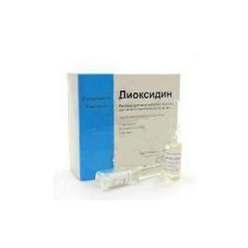 Диоксидин мастит