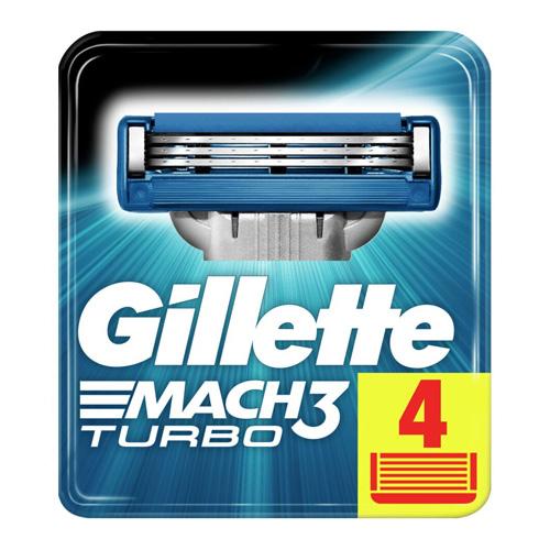 Фото - Gillette Сменные картриджи для бритья Gillette Mach 3 Turbo (4 шт) (Gillette, Бритвы и лезвия) gillette mach 3 turbo сменные кассеты для бритья n4 1 шт gillette бритвы и лезвия