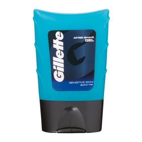 Gillette Гель после бритья Aftershave Gel Sensitive Skin Для чувствительной кожи 75 мл (Gillette, Средства бритья)