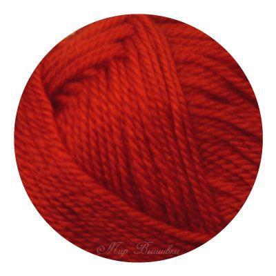 Мериносовая Цвет.06 Красный (Пехорка, Пехорка) пряжа для вязания пехорка вискоза натуральная цвет камелия 125 400 м 100 г 5 шт