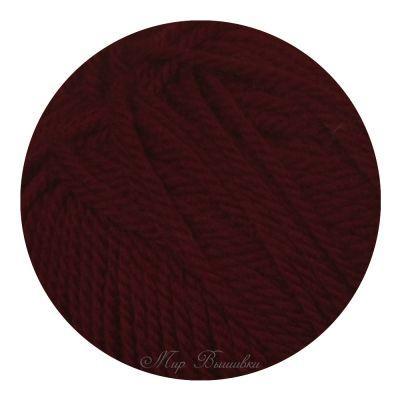 Мериносовая Цвет.07Бордо (Пехорка, Пехорка) пряжа для вязания пехорка вискоза натуральная цвет камелия 125 400 м 100 г 5 шт