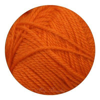 Мериносовая Цвет.284Оранжевый (Пехорка, Пехорка) пряжа для вязания пехорка вискоза натуральная цвет камелия 125 400 м 100 г 5 шт