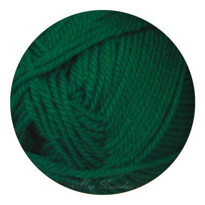 Мериносовая Цвет.335 Изумруд (Пехорка, Пехорка) пряжа для вязания пехорка вискоза натуральная цвет камелия 125 400 м 100 г 5 шт