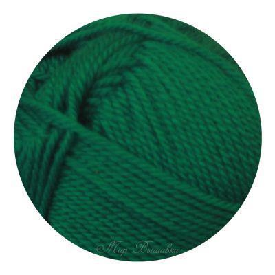 Мериносовая Цвет.511 Зеленка (Пехорка, Пехорка) пряжа для вязания пехорка вискоза натуральная цвет камелия 125 400 м 100 г 5 шт