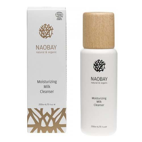 Ecocert Moisturizing Milk Cleanser Молочко для лица очищающее, 200 мл (Naobay, Naobay Face) holy land молочко для лица azulen face milk 240 мл