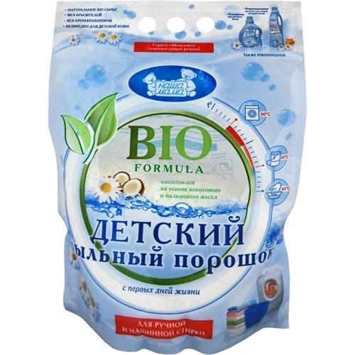 Наша Мама Детский мыльный порошок 2200 гр (Моющие средства)