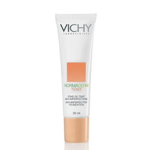 Крем тональный для комбинированной жирной проблемной кожи Нормадерм тон 25 30 мл (Vichy, Normaderm Teint) тональный крем vichy aera teint pure