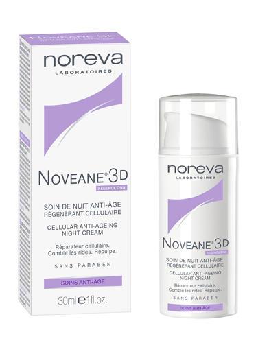 Ночной регенерирующий уход против старения 30 мл (Noreva, Noveane 3D) недорго, оригинальная цена