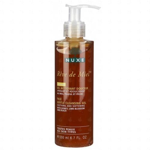 Очищающий гель для лица 200 мл (Nuxe, Reve De Miel) nuxe reve de miel ultra comfortable face cream night крем для лица ночной 50 мл