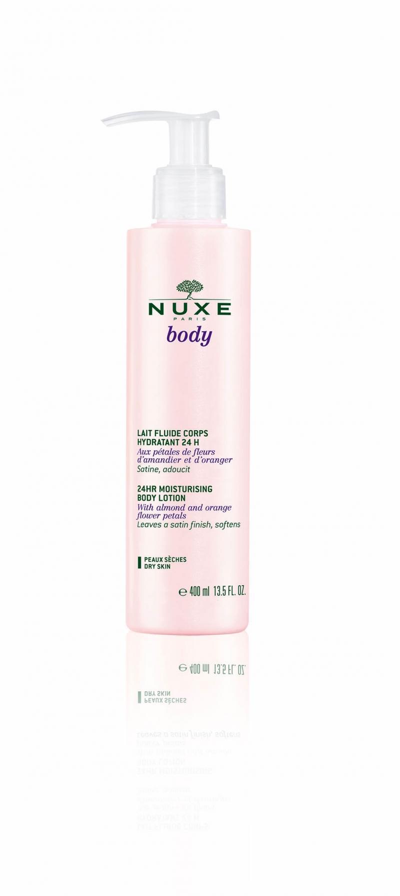 Нежное молочко для тела, увлажнение 24 часа, 400 мл (Nuxe, Nuxe body) nuxe масло для тела купить