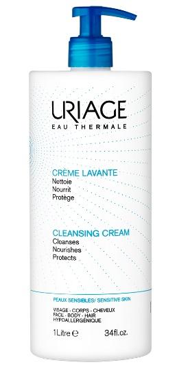 Купить Uriage Очищающий пенящийся крем Флакон-помпа 1 л (Uriage, Гигиена Uriage), Франция