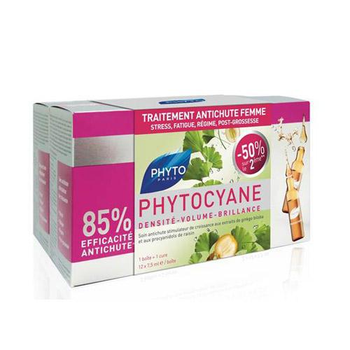 Фитоциан средство против выпадения и старения волос у женщин 12 ампул (Phytocyane) (Phytosolba)
