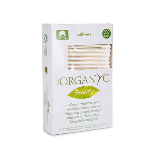 Organyc Ватные палочки, 200 шт (Kids hygiene)