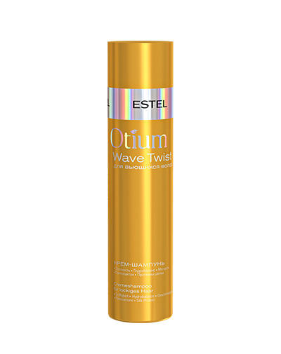 Estel Шампунь-крем для вьющихся волос Otium Wave twist 250 мл (Estel, Otium Wave twist) estel otium wave twist shampoo шампунь крем для вьющихся волос 250 мл