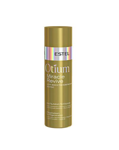 Бальзампитание для восстановления волос Otium Miracle Revive, 200 мл (Estel, Otium Miracle Revive) estel otium ineo crystal 3d гель для сильно поврежденных волос 200 мл