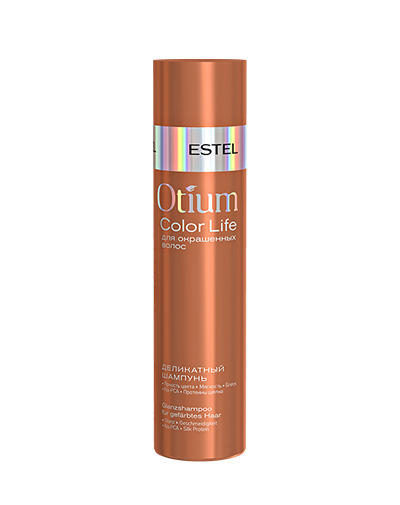 Купить Estel Шампунь деликатный для окрашенных волос Otium Color life 250 мл (Estel, Otium), Россия
