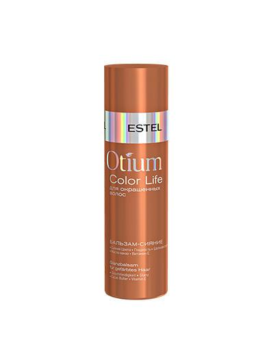 Бальзамсияние для окрашенных волос Otium Color life 200 мл (Estel, Otium Color life) estel otium ineo crystal 3d гель для сильно поврежденных волос 200 мл