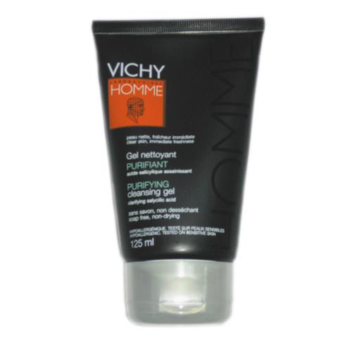 Гель для умывания очищающий оздоравливающий для комбинированной и жирной кожи. Виши Ом 125 мл (Vichy, Vichy Homme) как очистить жирную кожу