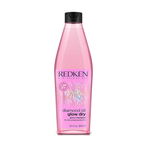 Redken Diamond Oil Glow Dry Шампунь 300 мл (Diamond Oil)