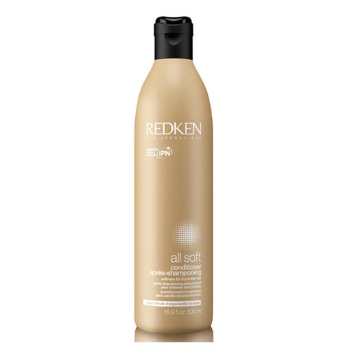 Redken Олл Софт Кондиционер с аргановым маслом для сухих и ломких волос 500 мл (All Soft)