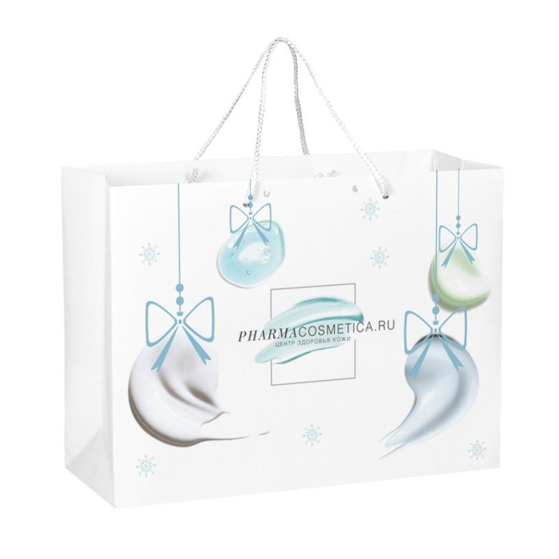 Новогодний подарочный пакет () от Pharmacosmetica