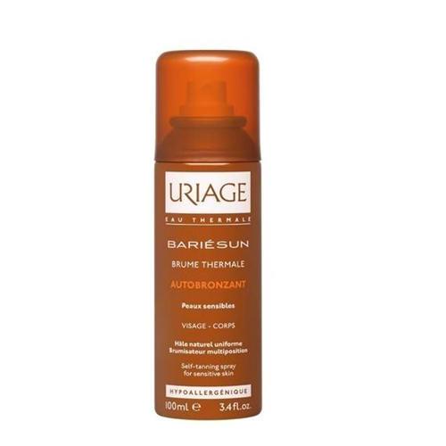 Фото - Uriage Термальный спрей - автобронзант для чувствительной кожи 100 мл (Uriage, Bariesun) термальный спрей автобронзат bariesun 100 мл