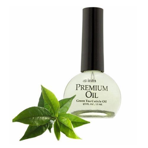 Масло для кутикулы с ароматом зеленого чая 15 мл (INM) cnd масло для кутикулы solar oil 3 7мл