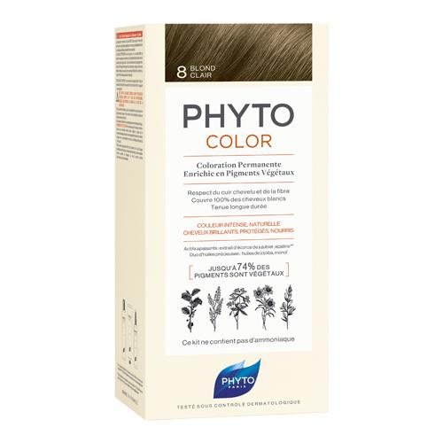 8 Фитоколор Краска для волос Светлый блонд (Phyto, Краски) недорого