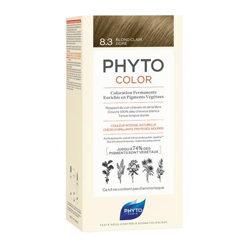 8.3 Фитоколор Краска для волос Светлый золотистый блонд (Phyto, Краски) недорого