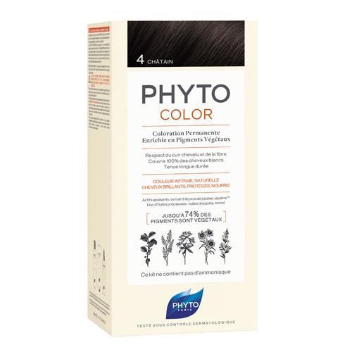 Phyto 4 Фитоколор Краска для волос Шатен (Phyto, Краски)