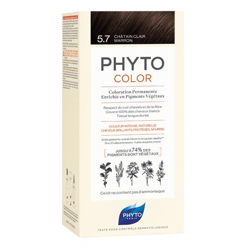 5.7 Фитоколор Краска для волос Светлый каштан (Phyto, Краски) недорого