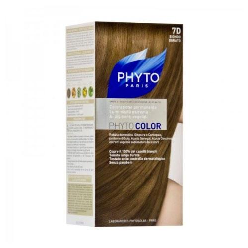 7D ФИТОКОЛОР краска для волос Золотистый Блонд