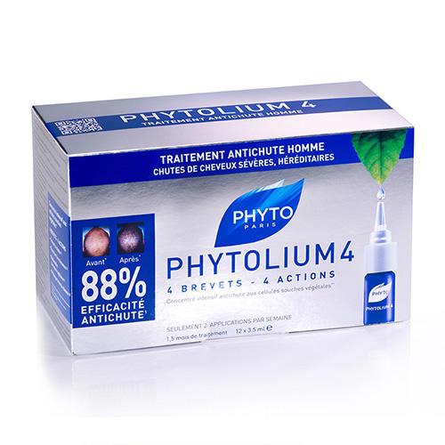 Фитолиум 4 сыворотка против выпадения волос 12 ампул по 3,5 мл (Phytosolba, Phytolium) phytosolba phytolium шампунь 125 мл