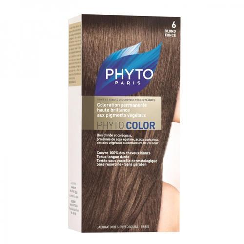 Phytosolba Фитоколор Краска для волос Темный блонд 6 (Phyto Color)