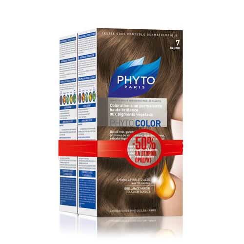 7 Фитоколор Краска для волос Блонд 2 шт. (Phyto, Краски) недорого
