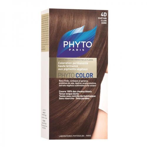 Фитоколор Краска для волос Светлый Золотистый шатен 4D (Phytosolba, Phyto Color) статуэтка русские подарки африканка 10 х 8 х 35 см