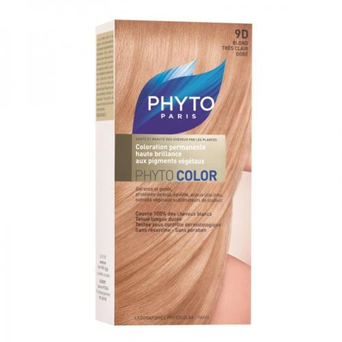 9D ФИТОКОЛОР Краска для волос Оч. Светл. Золотистый Блонд