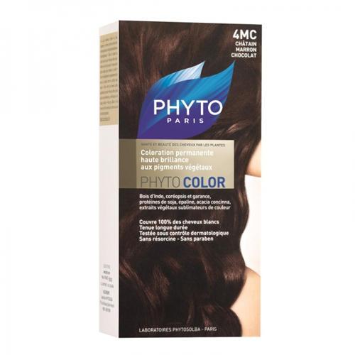 4MC ФИТОКОЛОР Краска для волос Шатен Каштан. шоколад