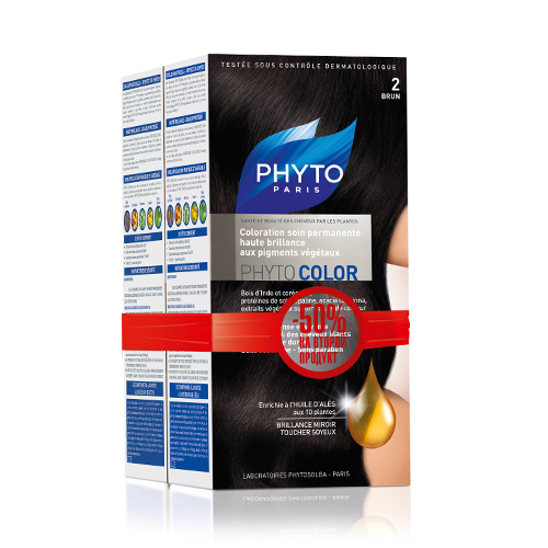 Фитоколор Краска для волос Брюнет 2 шт. (Phyto, Краски) недорого
