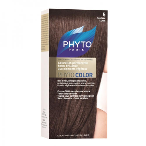 Phytosolba Фитоколор краска для волос Светлый шатен (Phyto Color)