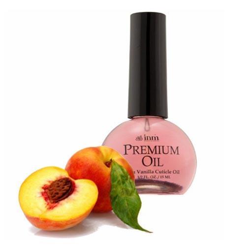 INM Масло для кутикулы с ароматом персика 15 мл ()